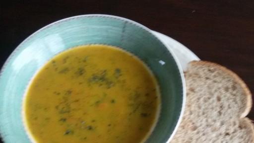 Wortel-Courgette soep